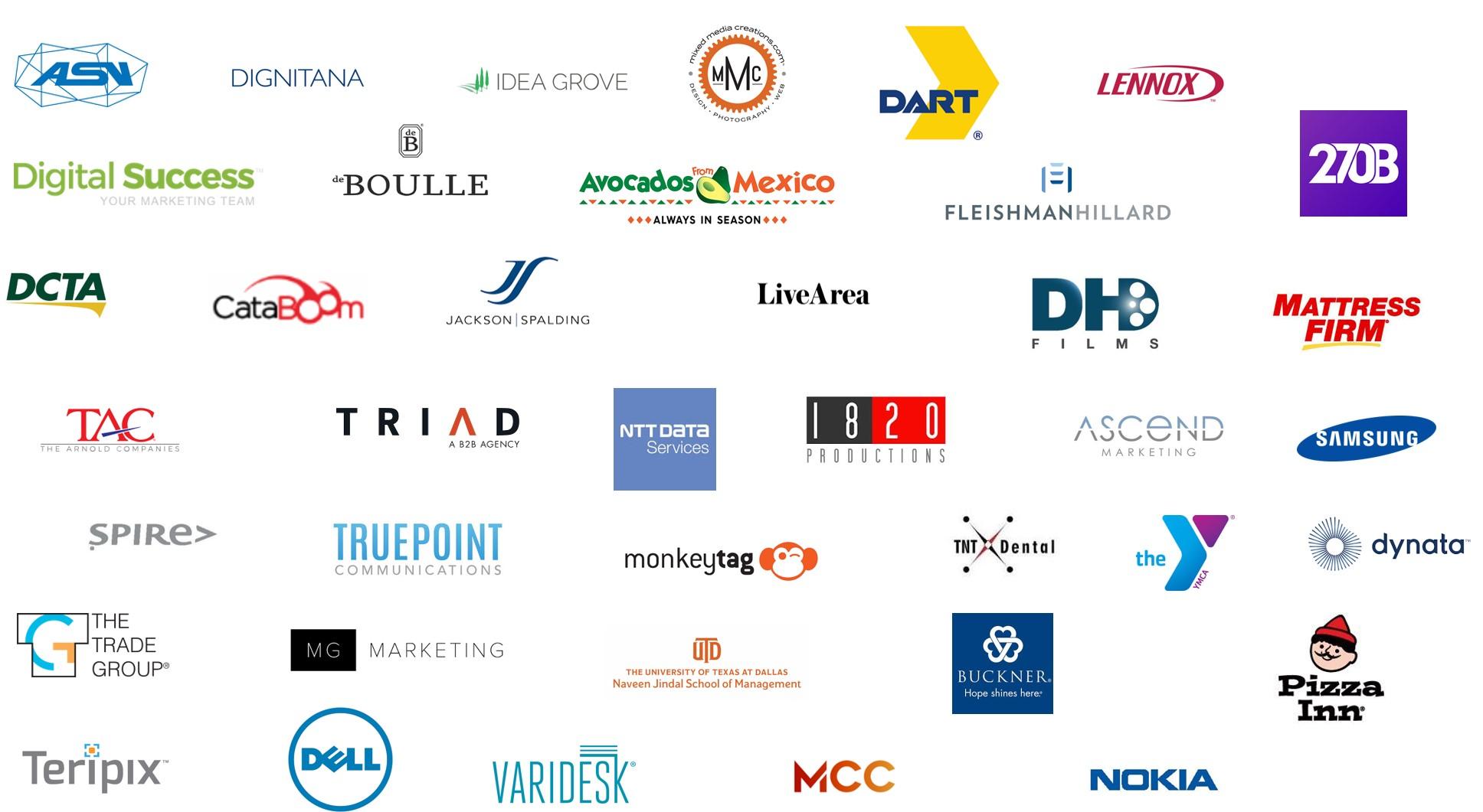 Finalist logos 2019
