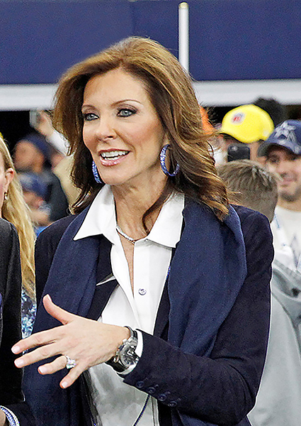 Charlotte Jones, EVP and Chief Brand officers, Dallas Cowboys
